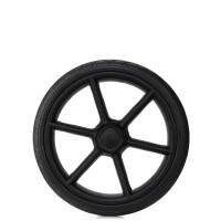 Колесо коляски ненадувное 12 дюймов тип 51 черный матовый