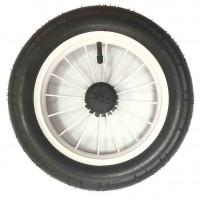 Колесо надувное со спицами размер 12 дюймов для Польских колясок (Lonex, Roan, Jedo, Tako, ) Белый Диск