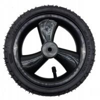 Колесо надувное 10 дюймов трехспицевое черное (50х160)
