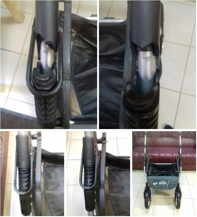 ремонт колясок Quipolo
