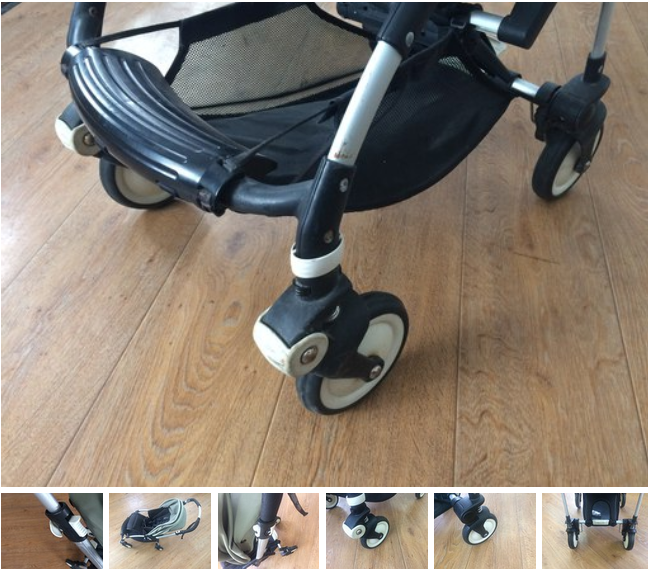 ремонт рамы коляски Quipolo