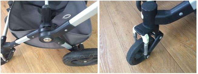 коляска Quipolo в мастерской