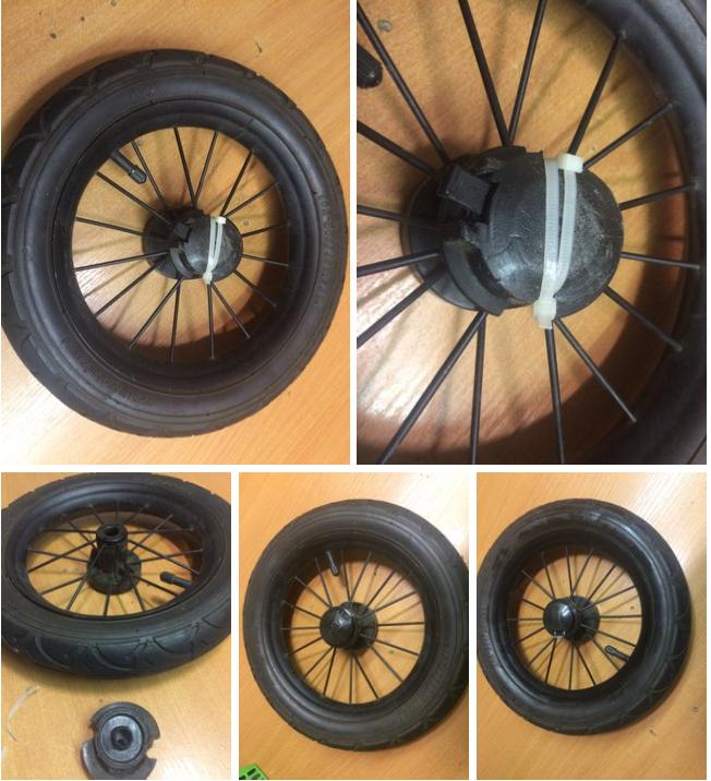 замена запчастей коляски